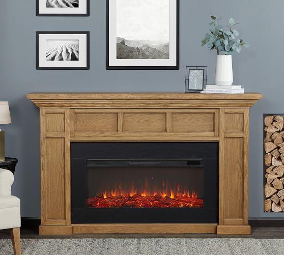 Electric Fireplace, Oak Electric Fireplaces