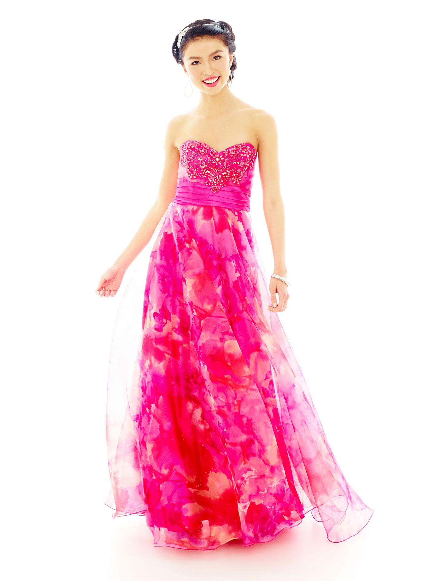 Prettiest Printed Prom Dresses | Prom, Prom 2014 and Camo