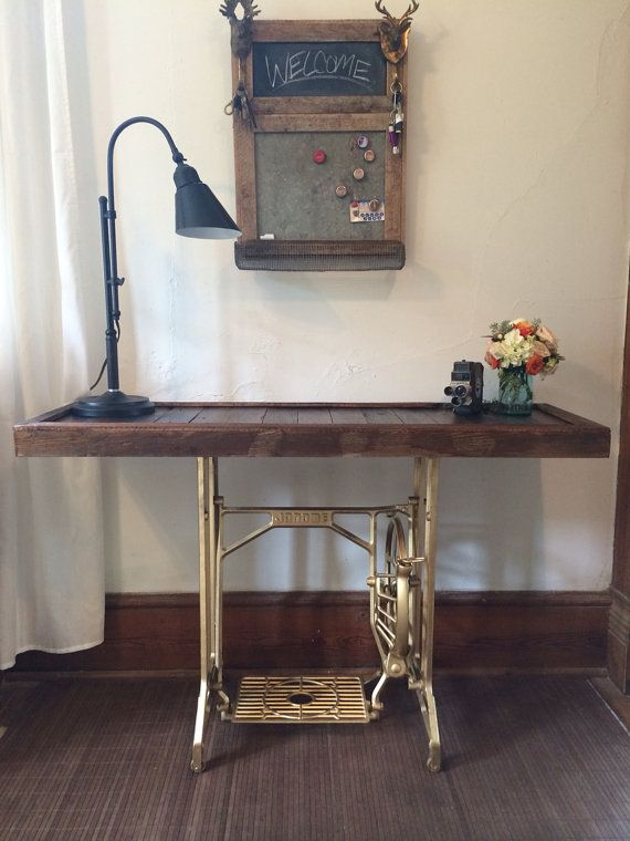 For Sale Vintage Peddle Sewing Machine Table On Etsy 225 00