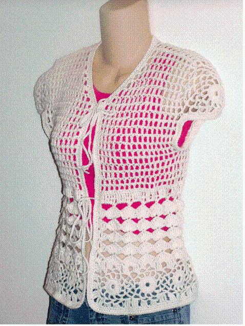 Cream Cap Sleeve Cardigan Shrug Sweater | Cream caps, Shrug ...