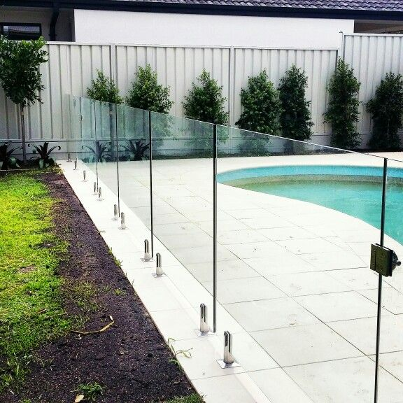 Frameless Glass Pool Fence Glass Pool Fencing Pool Fence Fountains Outdoor