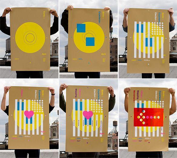 World Changing Speaker Series Poster Series on Behance