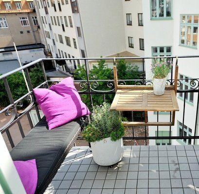 Ideas de mesas plegables para terrazas peque as terrazas balcones mesa plegable mesas y - Muebles para terraza pequena ...