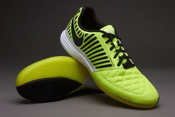 93ce7b1b9 Nike Football Boots - Nike LunarGato II Boots - Indoor - Fives - Soccer  Cleats - Volt-Black-White