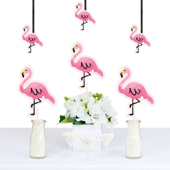 Flamingo Decorations Diy Flamingo Shaped Party Decorations Party Like A Pineapple Party Esse Diy Party Decorations Diy Party Essentials Pink Flamingo Party
