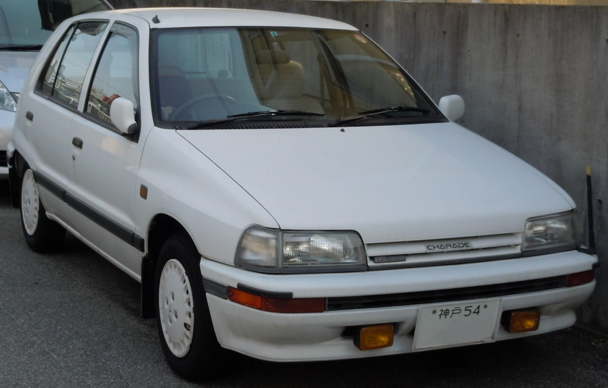 Daihatsu Charade, simple nice clean look Four Wheelers, Charades, Daihatsu,  Classic Cars