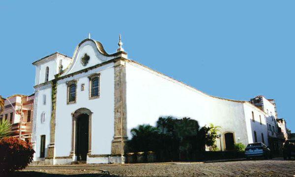 Paranaguá - Paraná - Brasil -  Igreja da Ordem Terceira de São Francisco das Chagas