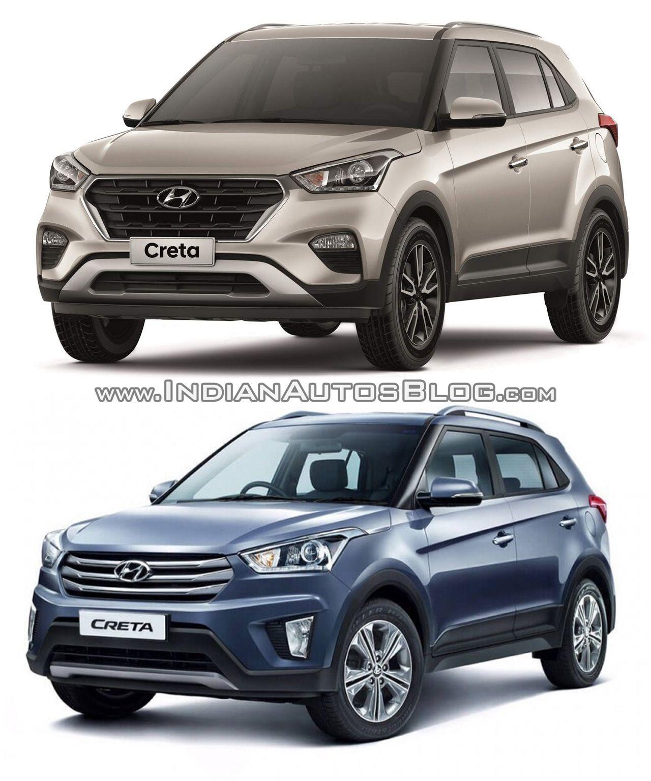 2017 Hyundai Creta vs. 2015 Hyundai Creta - Old vs. New | Cars