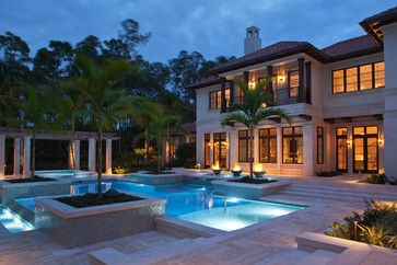 Naples Florida - Mediterranean - Pool - Other Metro - Theo and Isabella Design Group