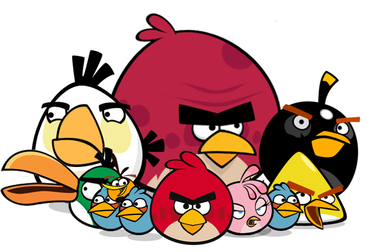 Angry Birds Angry Birds Stella Angry Birds Dibujos De Figuras Geometricas