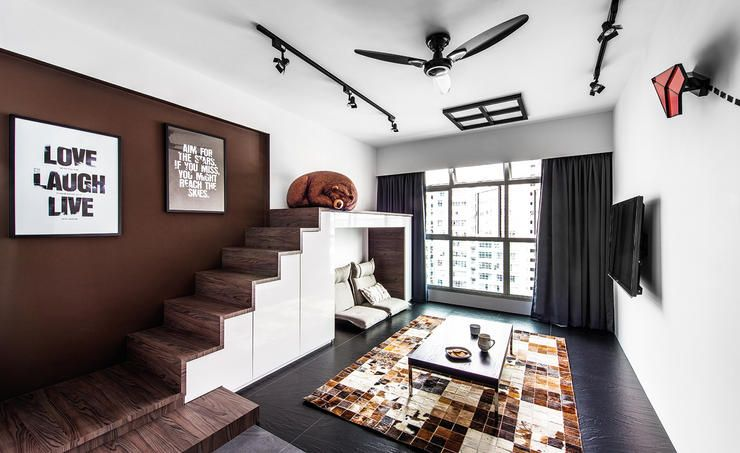 7 Amazing Hdb Flats In Sengkang And Punggol Living Room Remodel