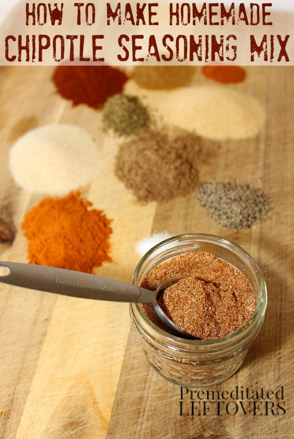 How To Make Chipotle Seasoning Mix Here S An Easy Recipe For