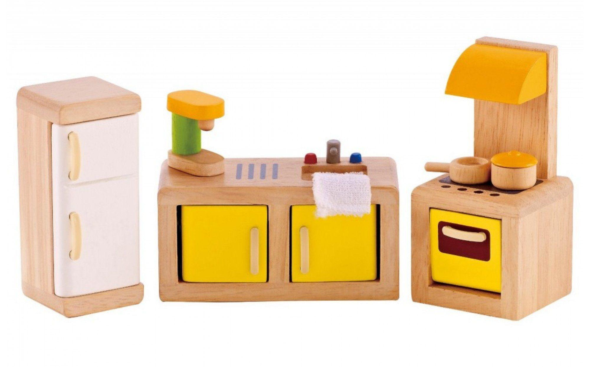 Kitchen Wooden Dolls House Furniture Wooden Dollhouse Dollhouse Furniture