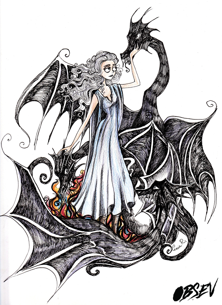 Artist Remakes Game Of Thrones Characters In Tim Burton S Style