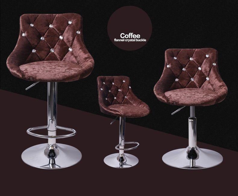 Kaffee Farbe Haar Shop Bar Scham Haus Aufzug 60 Cm Stuhl Freies Verschiffen  Neue Stuhl Hocker