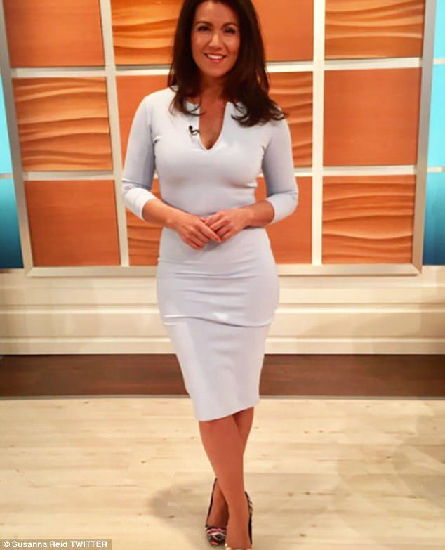 Susanna Reid 'distracts' With Plunging Dress On Good