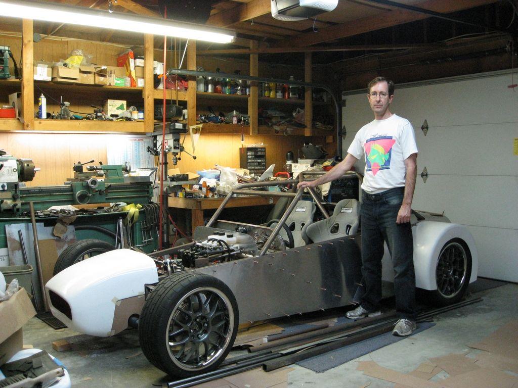 Lotus 7 / Caterham Type Body Tub Chassis Steel Kit Car Frame ...