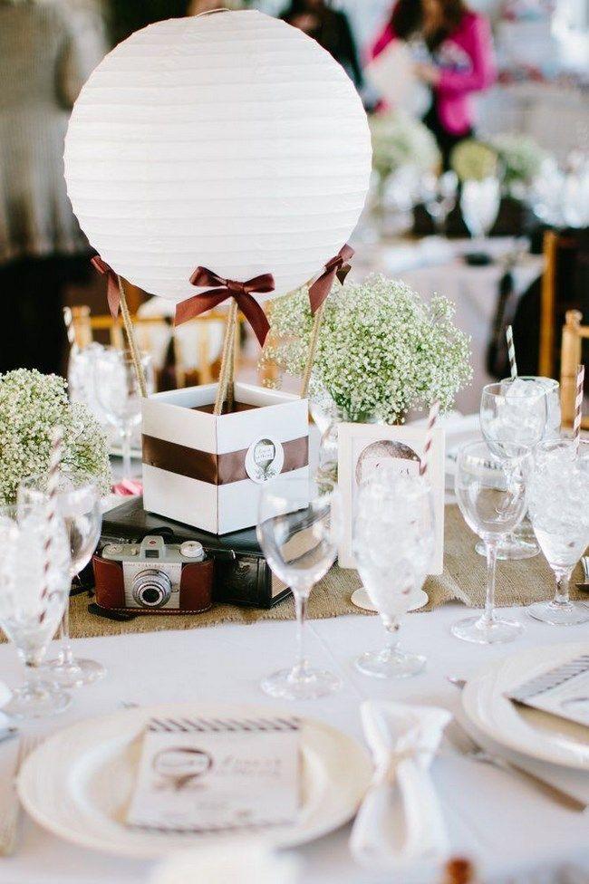 Centros de mesa con globos para boda - Centros de Mesa centros de