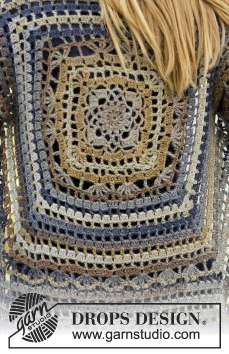 Free Pattern Crochet Sweaters Pinterest Häkelanleitung