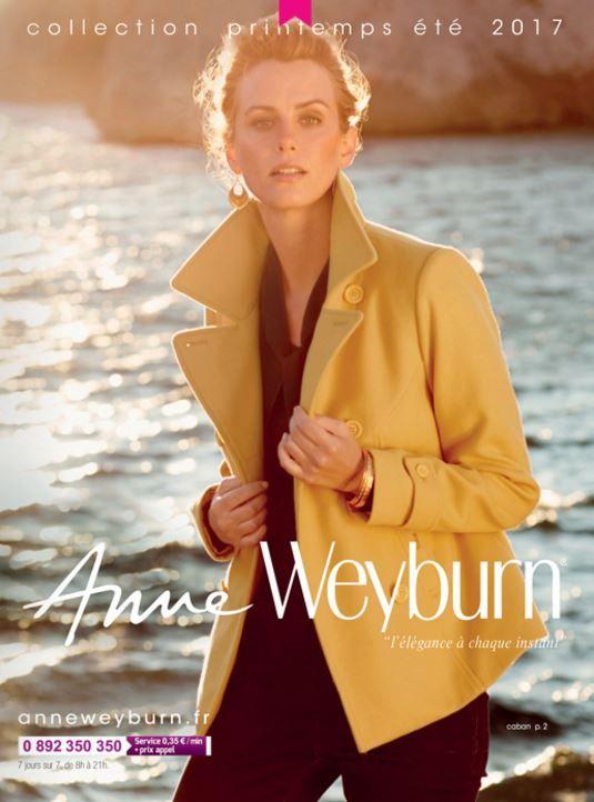 Nouveau Catalogue Anne Weyburn Printemps été 2017