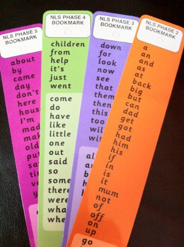 Common words card bookmarks , Ks1, Ks2 Amazon co uk Office Products is part of Dyslexia teaching -