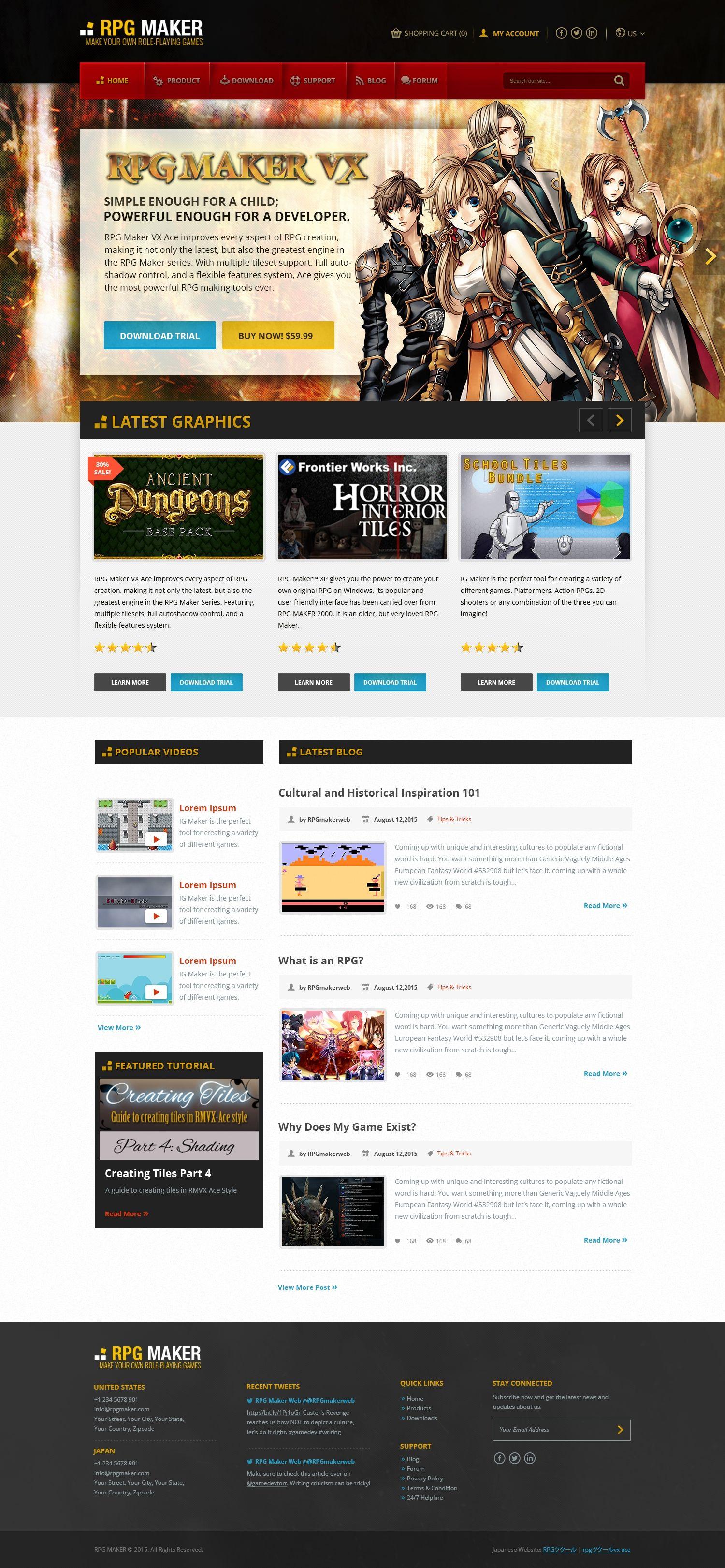 Design #18 by madgrapiks™ | Create a new website design for