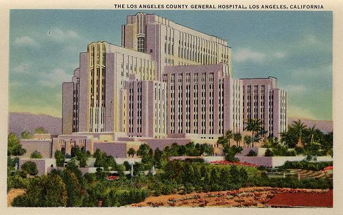 The Los Angeles County General Hospital County Hospital General Hospital Los Angeles