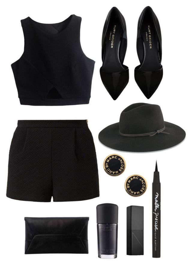 """""""ten"""" by talktoplants ❤ liked on Polyvore featuring Kurt Geiger, rag & bone, Maybelline, Marc by Marc Jacobs, Lost Society, MAC Cosmetics and NARS Cosmetics"""