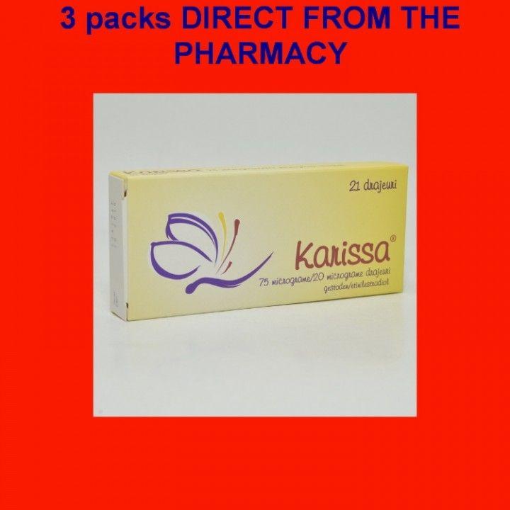 eBlueJay: Karissa ORAL CONTRACEPTIVE GUARANTEED 3X21 Birth Control Pill