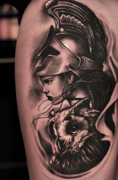 Tatuajes De Diosas Griegas 8 Tattos