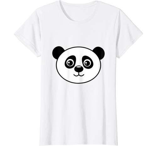 Big Panda Face Costume Cute Easy Animal Halloween Gift T Shirt Women #area51partyoutfit