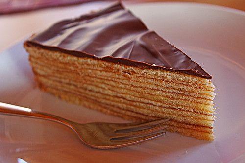 Baumkuchen #chocolatedessertrecipes