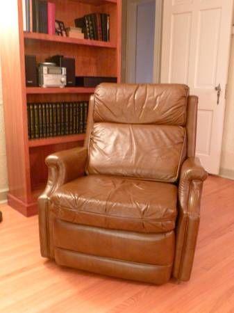 Brown Leather Barcalounger Recliner From Craigslist Final Pinterest Barcalounger Recliner