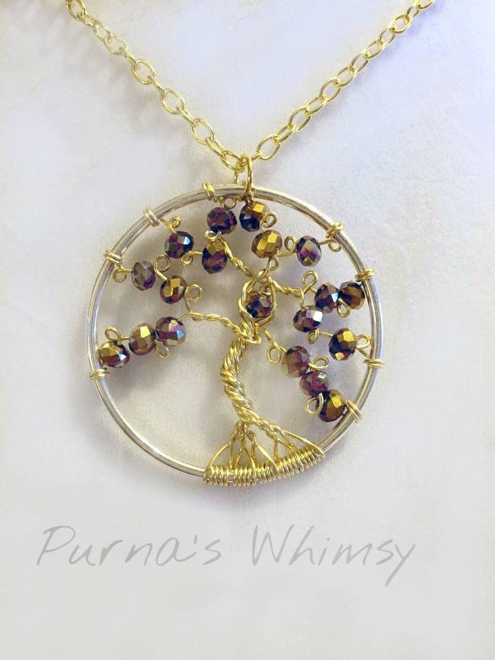 Goddess Tree Pendant - Purna's Whimsy