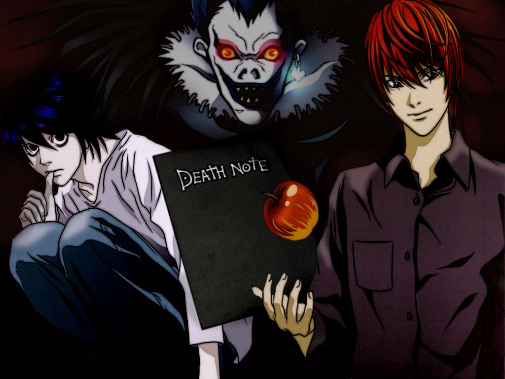 Death Note Kira Apple HD Wallpaper Anime » Forkyu. Anime