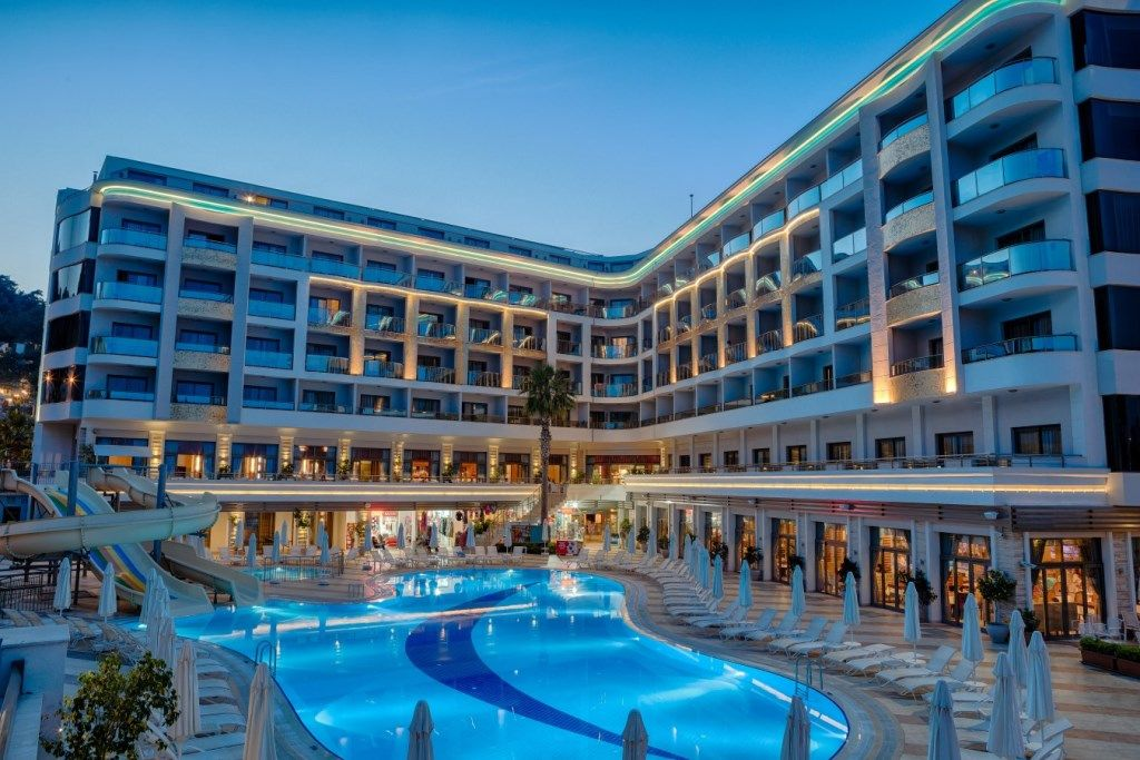 Book The Best Hotels In Marmaris Golden Rock Beach Hotel Situated