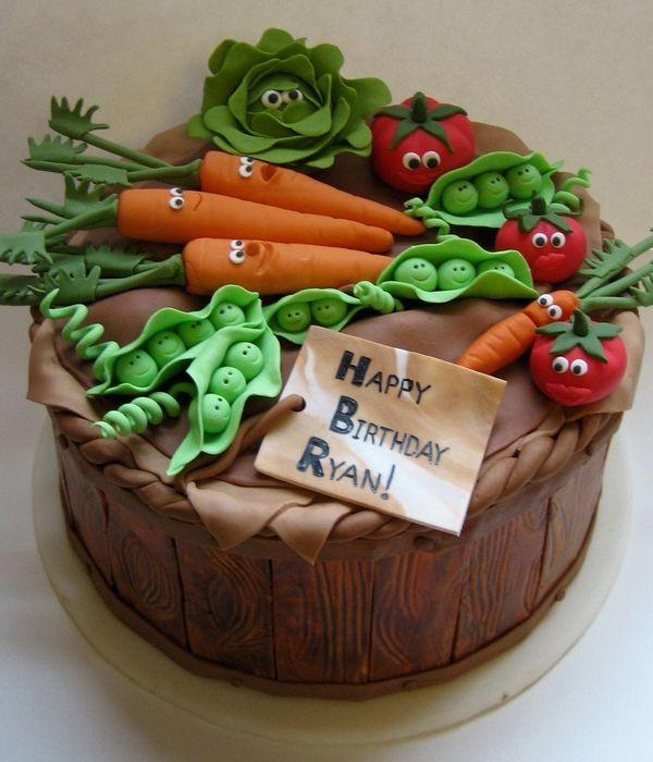Happy Vegetables! in 2019   Vegetable cake, Vegetable ...