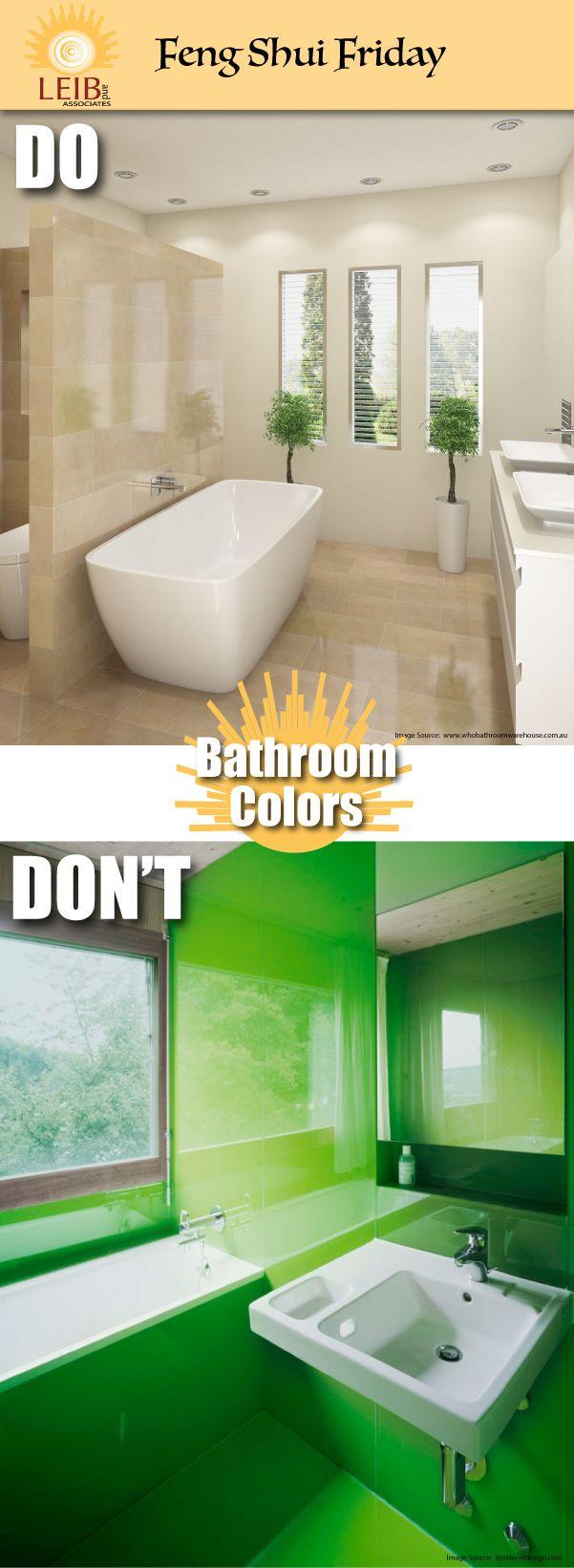 Best Color Paint Bathroom Feng Shui