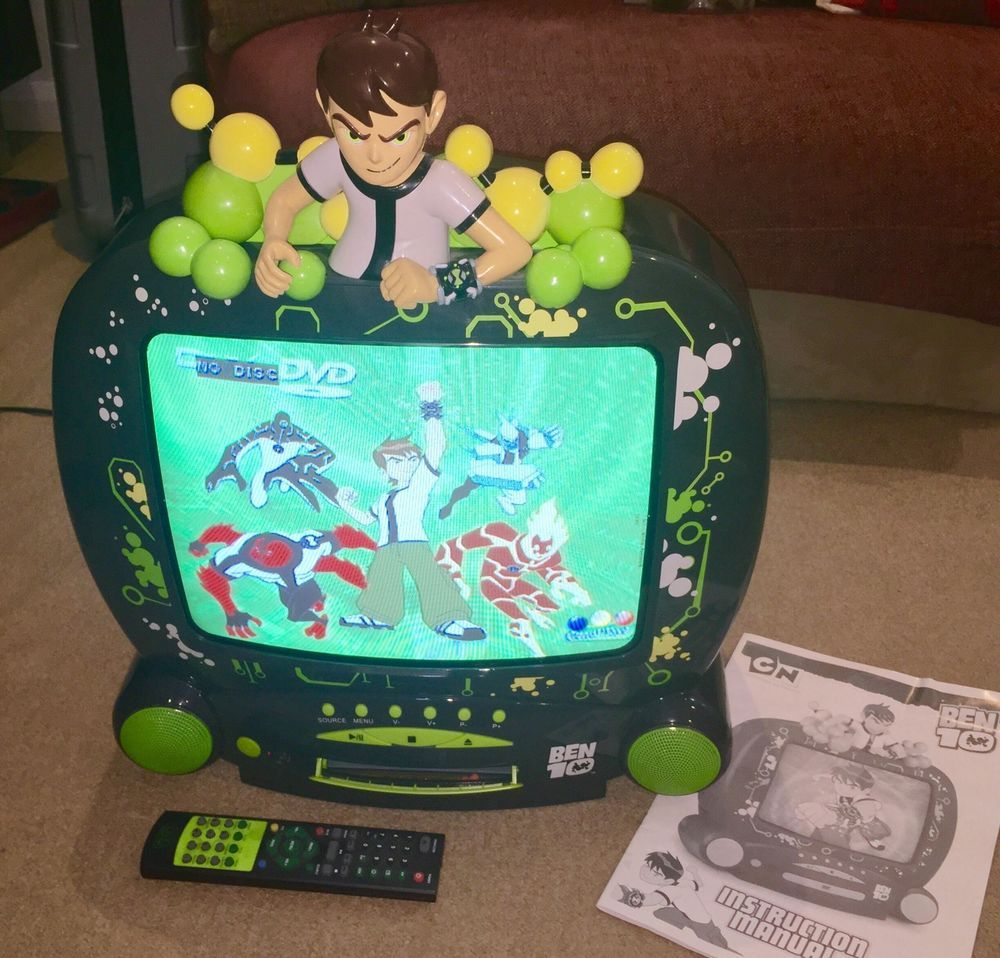 BEN 10 14 Colour TV and DVD Combi Player + Box + Remote | Rose\'s ...