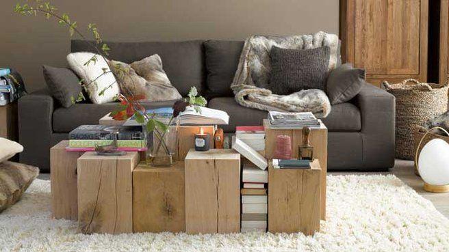 Table basse en caisses meubles Pinterest Table basse, Caisse