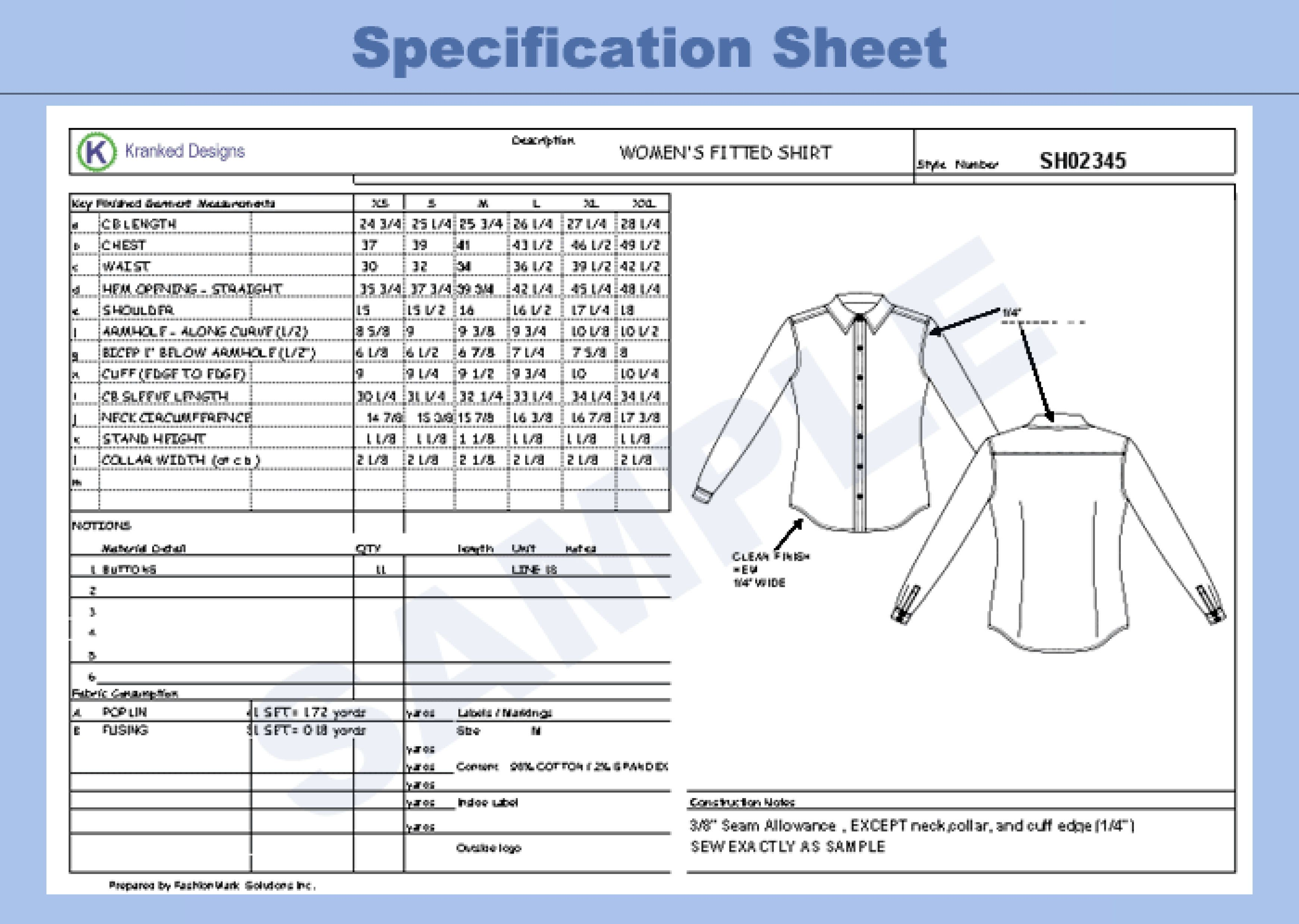 spec sheet | Fashion Spes | Pinterest | Patterns and Craft