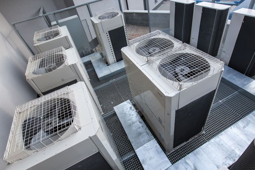 When refrigerant begins to leak, specific steps should be