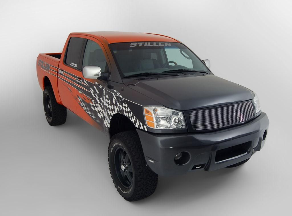 STILLEN 2005 Nissan Titan Wrap Graphics.