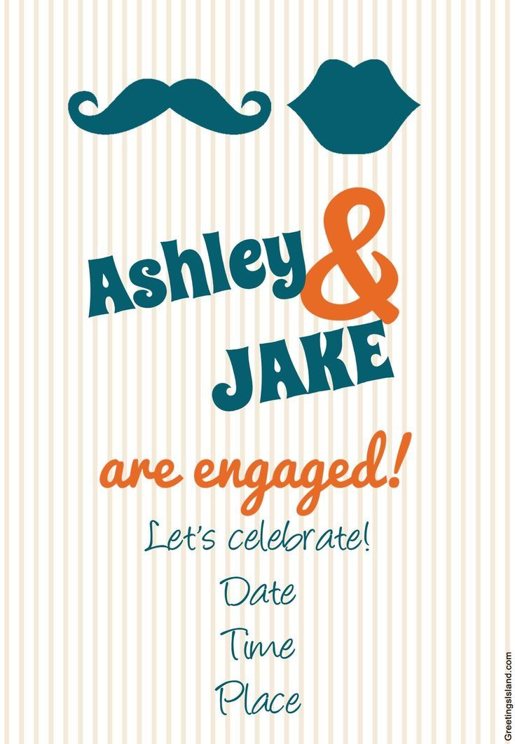 Printable Invites for Your Engagement Party That Are Completely - free engagement party invitations