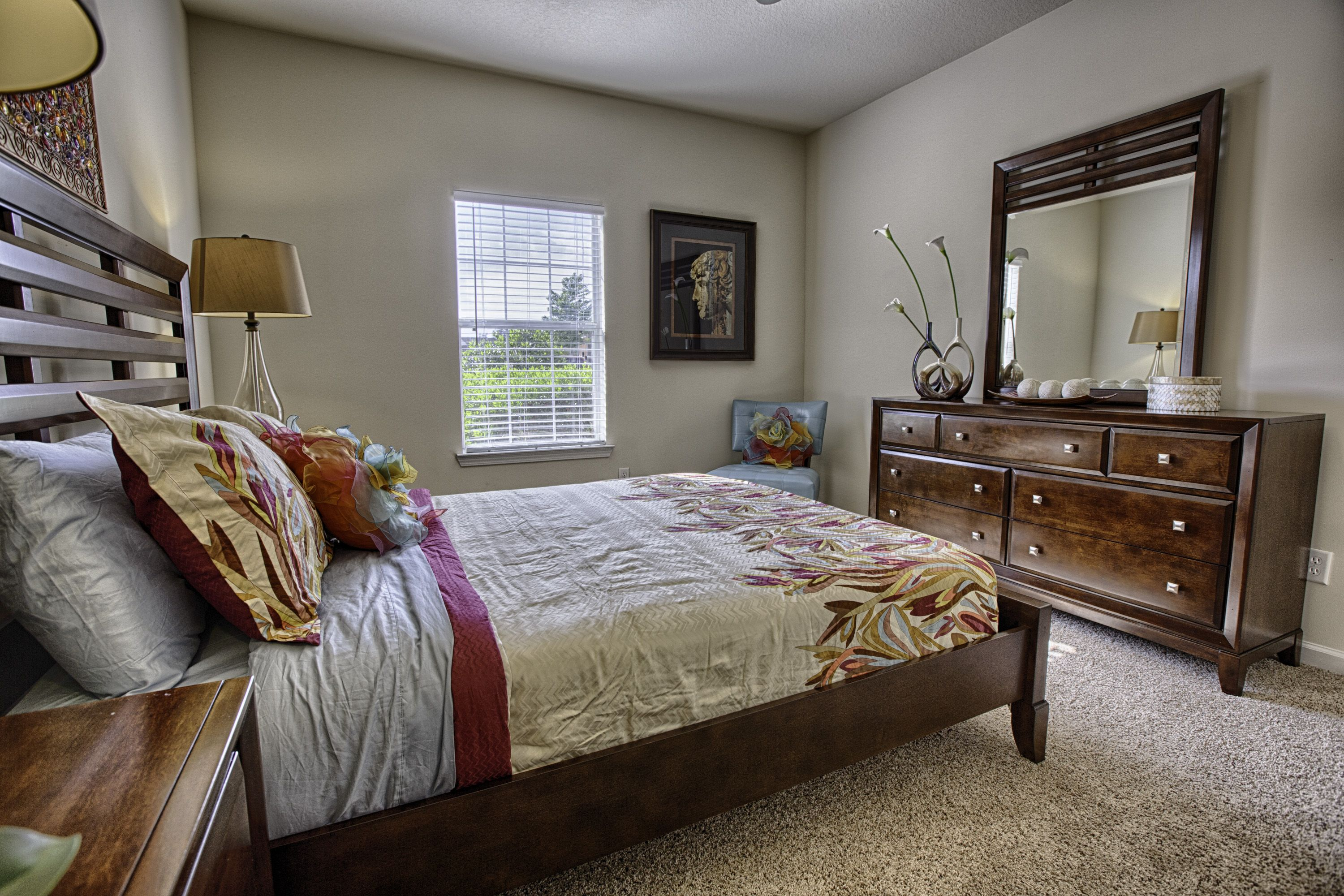 Spacious Bedroom s at Forest Trail Apartments, 7651 Highway 69 ...