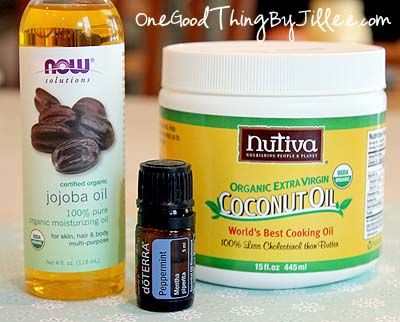 Make your own Coconut Oil Deep Conditioner and Detangler.   Simple, economical, all-natural!