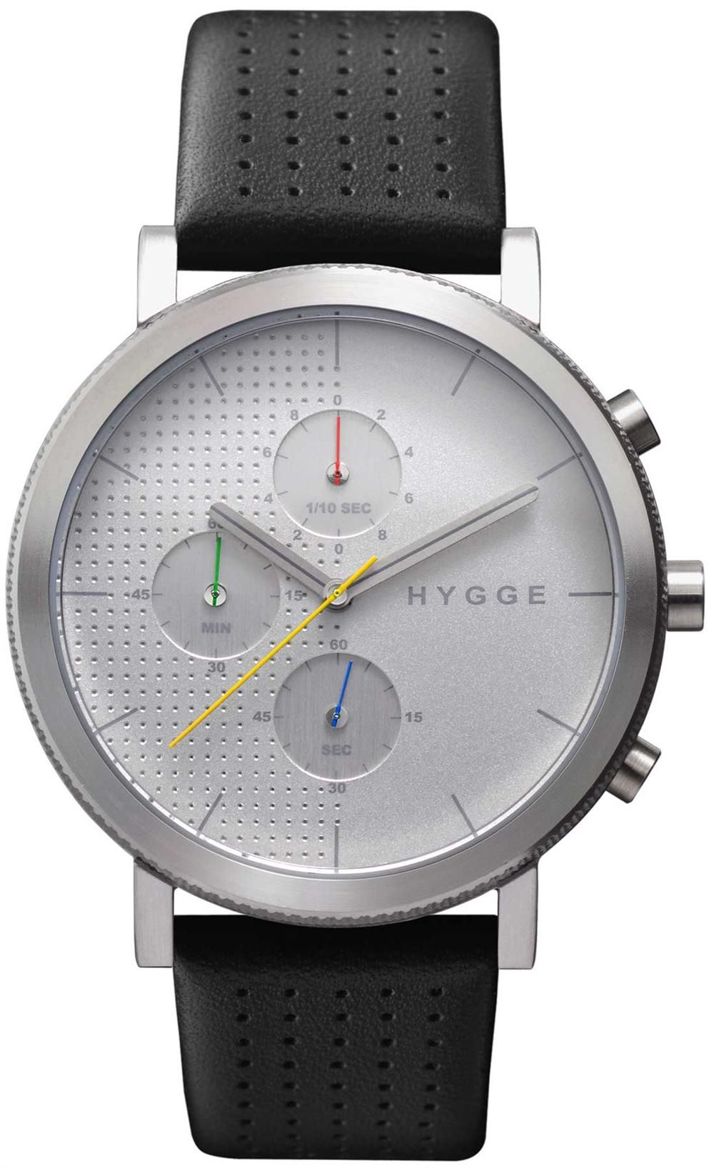 Hygge 2204 Duality Chronograph Silver Ref Msl2204c Ch
