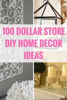 Beautiful Decorate For Less With These Dollar Store DIY Projects. Http://www.