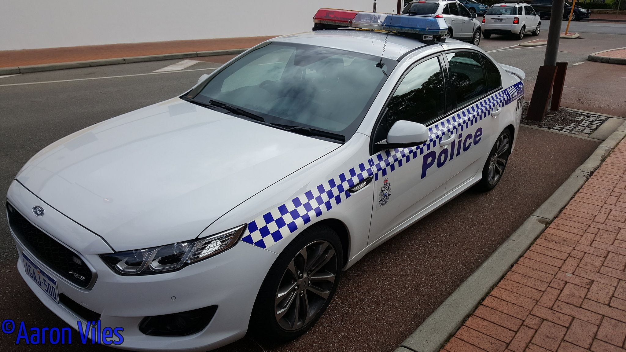 australia police officers car