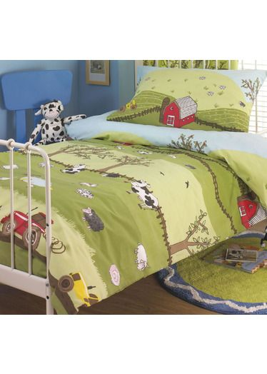 Apple Tree Farm Toddler Bedding Kids, Farm Toddler Bedding Sets